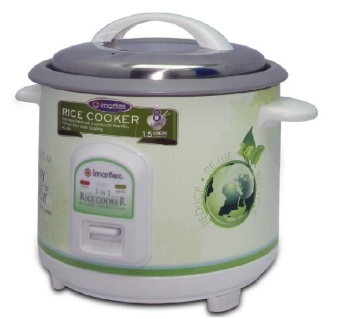 Imarflex IRC-15K Rice Cooker 1.5L (White)