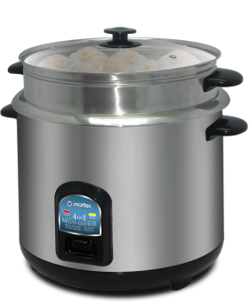 Imarflex IRC-180S Multi-cooker 1.8L 10 Cups (Stainless Steel)