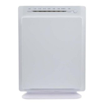 Ionizers HEPA Air Purifier Carbon Filter Air Cleaner Home OfficePM2.5 In Addition to Smoke Formaldehyde(white)