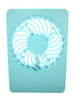 Iyach Charge Pal Fan Rechargeable Mini Fan with Powerbank (LightBlue) Price Philippines