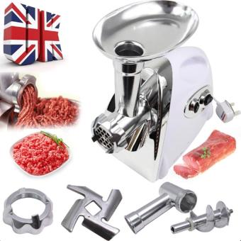 J&J 2800W Electric Meat Grinder Kitchen Steel Sausage FillerMincer Vegetables Maker - 2