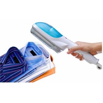J&J Tobi Travel Steamer/Brush (Blue) with Home-Use DigitalGlass Personal Scale - 2