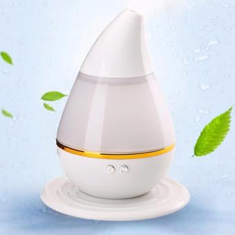 J&J Ultrasonic Atomization Colorful Gradient Light Humidifier -White