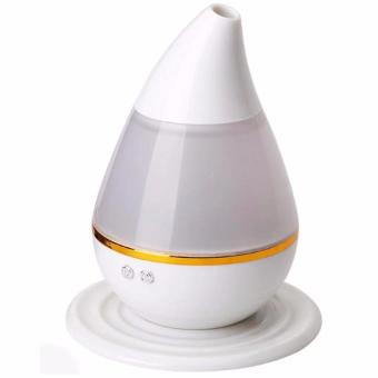 J&J Ultrasonic Atomization Colorful Gradient Light Humidifier -White - 3