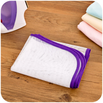 Japanese High Temperature Ironing Cloth Ironing Pad ProtectiveInsulation Against Hot Household Ironing Mattress (White) - 2