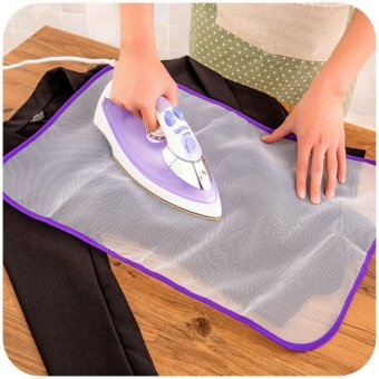 Japanese High Temperature Ironing Cloth Ironing Pad ProtectiveInsulation Against Hot Household Ironing Mattress (White)
