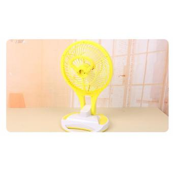 JR-5580 Portable Rechargeable LED Light with Mini Fan