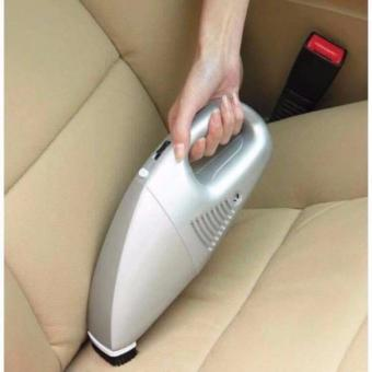 K&E Rechargeable Car Vacuum Cleaner (Silver)