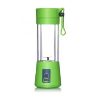 Keimav Rechargeable USB Electric Fruit and Vegetable JuiceBlenderCup Juicer Extractor 380ml (Green)
