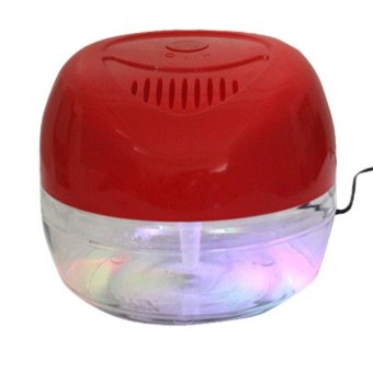 KS-03CL Air Revitalisor with 6 Colorful LED Lights (Red) - picture 3