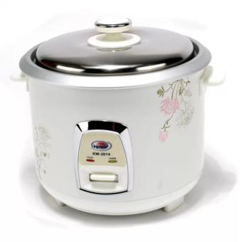 Kyowa KW-2014 Rice Cooker 1.5L (White)