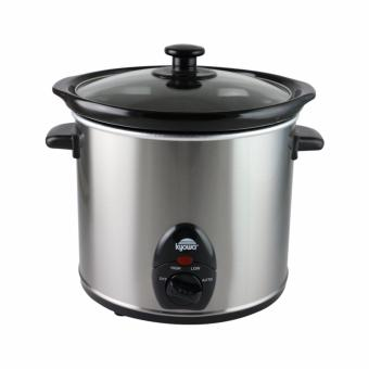 Kyowa Slow Cooker 3.0L with Ceramic Inner Pot Glass Cover