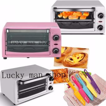 lazada best selling 6 in 1 Electric Oven Toaster and knife setRandom color Price Philippines