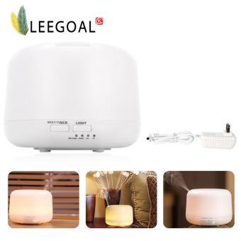 Leegoal 300ml Aromatherapy Essential Oil Diffuser Ultrasonic CoolMist Humidifier with 7 Color LED Lights Changing and Auto Shut Offfor Home Office - intl