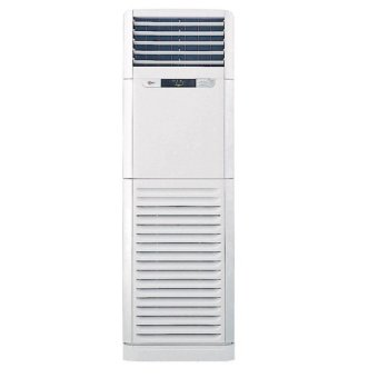 lg 4.0hp floor standing non-inverter air conditioner (white
