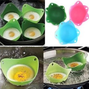 Makiyo Egg poacher, silicone, kitchen tool, cookware poached baking cup - intl