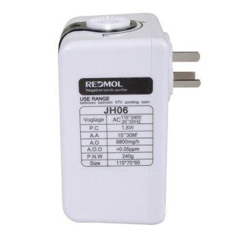 Mance-N35 110-240V Negative Ion Home Mini Air Purifier Ozonator Purify Cleaner - 4