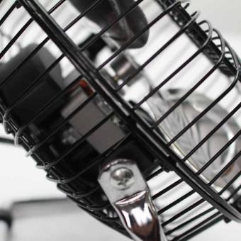 Marubishi MFF-206 High Velocity Fan (Black/Silver) - 4
