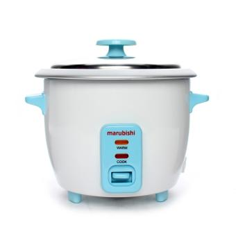 Marubishi MRC 304 Rice Cooker (White/Blue )