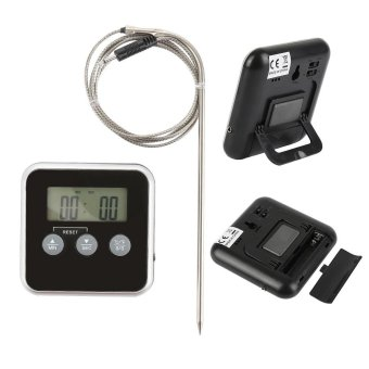 Meat Cooking Baking BBQ Grill Oven Digital Thermometer with Sensor Probe Tool - intl
