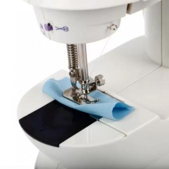 Microbishi MSM-202A There is Light 2-Speed Mini Electric SewingMachine Kit (White/Lavender) - 2
