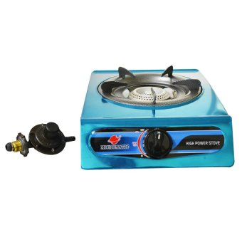 Micromatic MGS-212 Single Burner Gas Stove with Regulator (Multicolor)