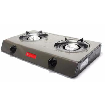 Micromatic MGS-650 Double Burner Gas Stove (Grey) - 2