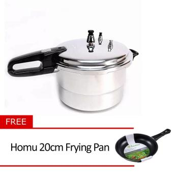 Micromatic MPC6QC Pressure Cooker with Free Homu 20cm Frying Pan