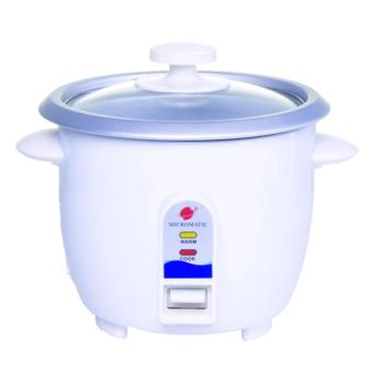 Micromatic MRC-350/MRC3 Rice Cooker No Steamer 3cups (White)
