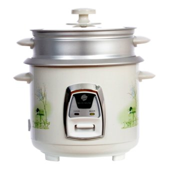 Micromatic MRC-838D 1.8 L Rice Cooker (White)