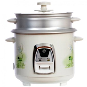 Micromatic Rice Cooker with Steamer 1.8L