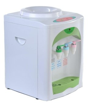 Micromatic Table Top Electric Water Dispenser (White/Green) MWD203 - 2