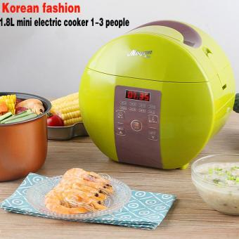 Mini Electric Rice Cooker Intelligent Appointment Student RiceCooker 1.8L 1 to 3 People (mogan)