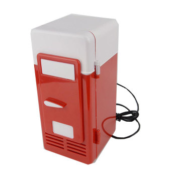 Mini USB Fridge Cooler/Warmer Refrigerator Red
