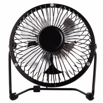 Mini USB Table Desk Personal Fan USB-Powered Portable Fan DesktopUSB Fan Portable Cooling Solution Quiet and Portable for DesktopTabletop Floor Office Room Travel - intl