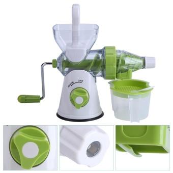 Multi-function Manual Orange Fruits/Vegetable Juicer MachineKitchen Fresh Juice Extractor - intl - 4