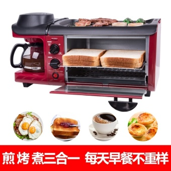 Multifunctional household toaster toaster coffee for breakfastgrilled toast with electrical machine - intl