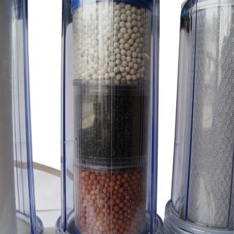 NEUCHI NWA-1441 ALKALINE WATER PURIFIER FILTER KIT, STAGE 1, 2,& 3 - 5