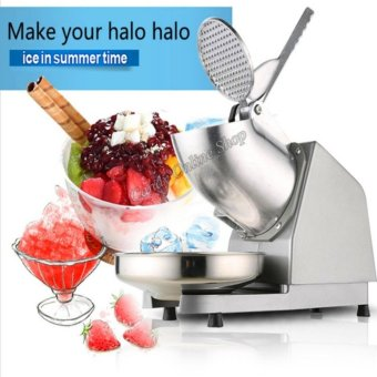 New 2017 Electric Ice Crusher Shaver Machine Snow Cone Maker ShavedIce