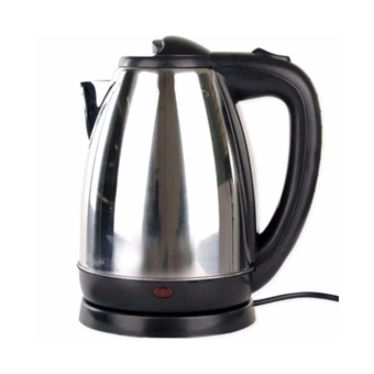 New 2017 Stainless Steel Wireless Electric Kettle 2 Liter (Silver)