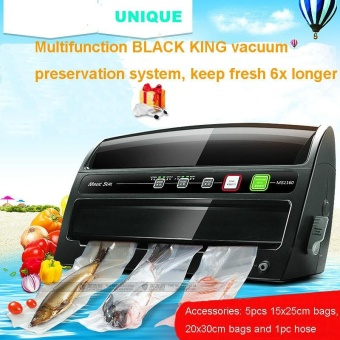 NEW Arrival food saver vacuum sealing machine vacuum sealer withroll and bag cutter inside - intl