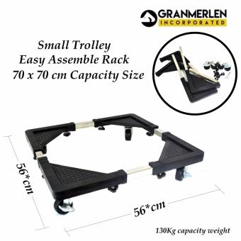 New Granmerlen Multi-functional Small Adjustable Stand for Washing Machine, Refrigerator Rack (Small)