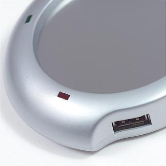 Office House Use USB Powered Tea Coffee Milk Cup Mug Warmer HeaterPad - intl - 4