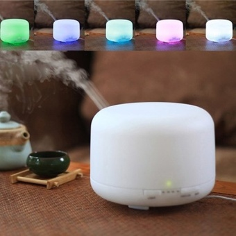 Oil Aroma Diffuser Ultrasonic Mist Humidifier LED Light - intl Price Philippines