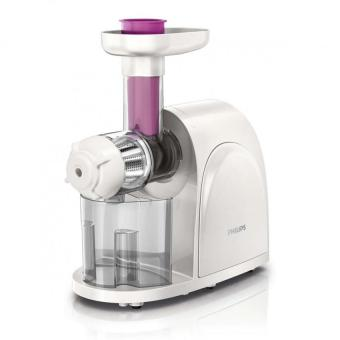 Philips HR1830 Slow Juicer (White)