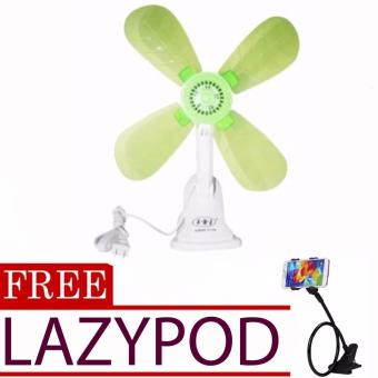 Portable Clip Electric Fan (color may vary)with FREE Lazypod (color may vary)