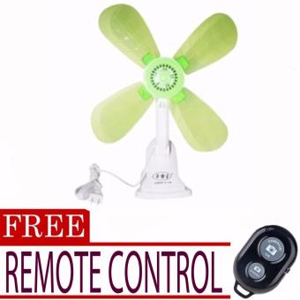 Portable Clip Electric Fan (color may vary)with FREE Remote Control(Black)