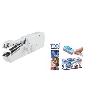 Portable Cordless Electric Sewing Machine With TOBI Travel SteamIron
