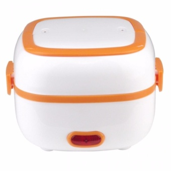 Portable Electric Lunch Box Cooker (Orange) Price Philippines