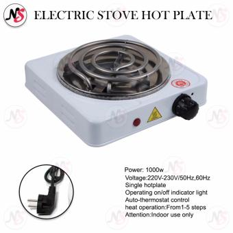 Portable Electric Stove Single Burner 1000W Hot Plate JX1010B (White)